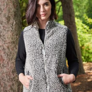 Women's Epic Sherpa Full-Zip Vest Thumbnail