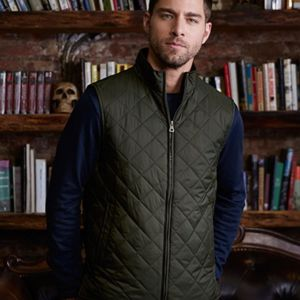 Vintage Diamond Quilted Vest Thumbnail