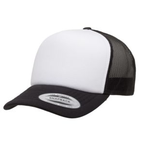 Yupoong 6320-Foam Trucker Cap with Curved Visor Thumbnail
